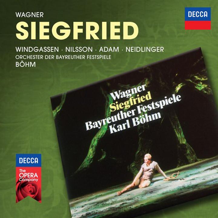 Siegfried (Decca Opera): Windgassen/Wohlfahrt/Adam/Neidlinger/OBF/Böhm/+
