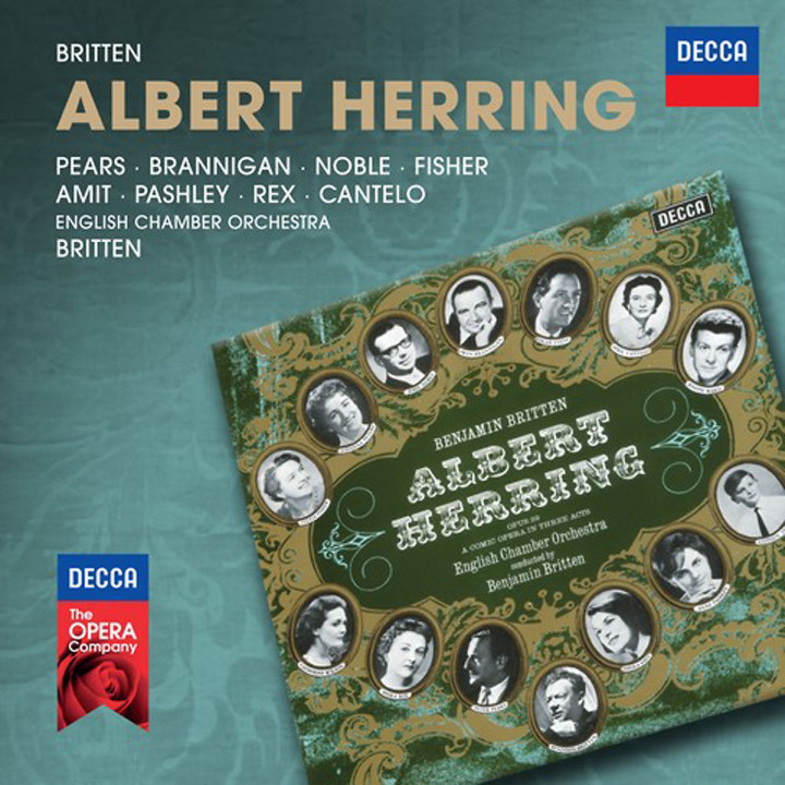 Albert Herring (Decca Opera): Fisher/Peters/Cantelo/Noble/Evans/ECO/Britten/+