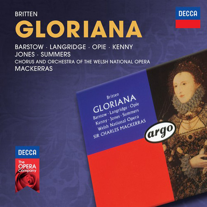 Gloriana (Decca Opera): Barstow/Langridge/Jones/Summers/OWNO/Mackerras/+