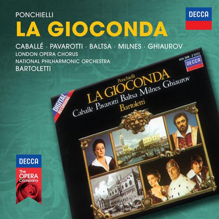 La Gioconda (Decca Opera): Caballe/Pavarotti/Baltsa/Milnes/NAPO/Bartoletti/+