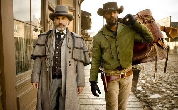Django Unchained OST, Django Unchained: Tarantino und Waltz freuen sich über Golden Globes