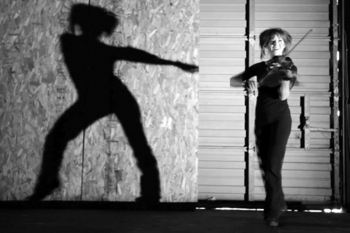 Lindsey Stirling Video Shadows