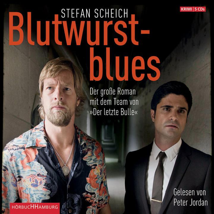 """S. Scheich: Blutwurstblues (""""Der letzte Bulle""""): Jordan,Peter"""
