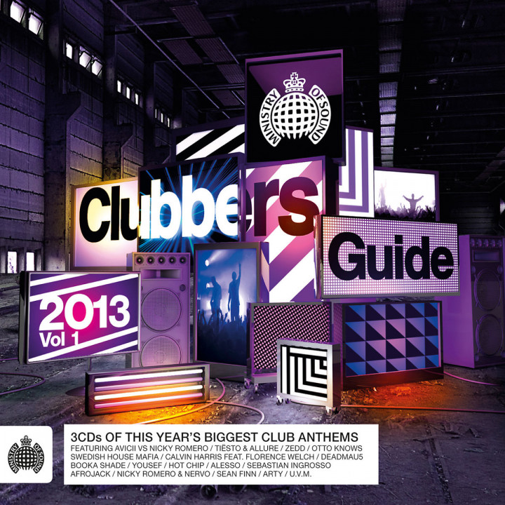 Ministry of Sound - Clubbers Guide 2013, Vol.1: Various Artists