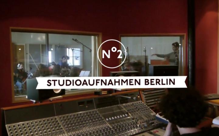 "Bosse Videotagebuch Episode 2 ""Studioaufnahmen Berlin"""