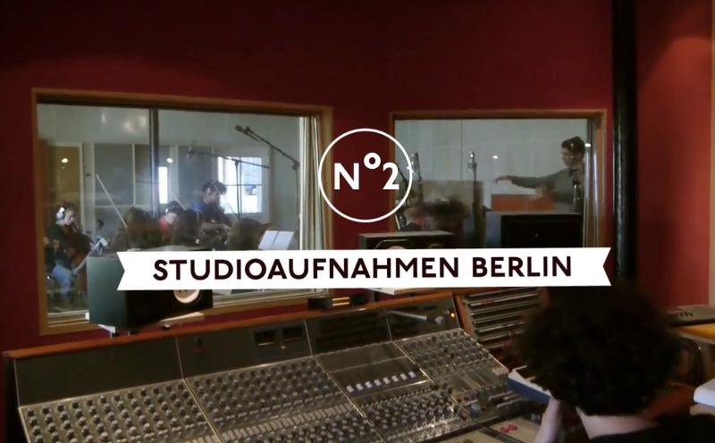 "Bosse, Bosse Videotagebuch Episode 2 ""Studioaufnahmen Berlin"""