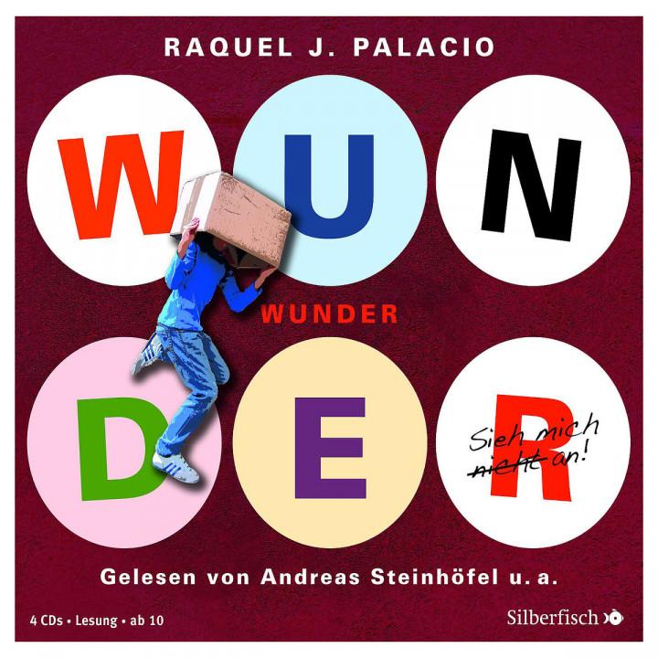 R.J. Palacio: Wunder: Steinhöfel,Andreas/Icks,Sascha/u.a.