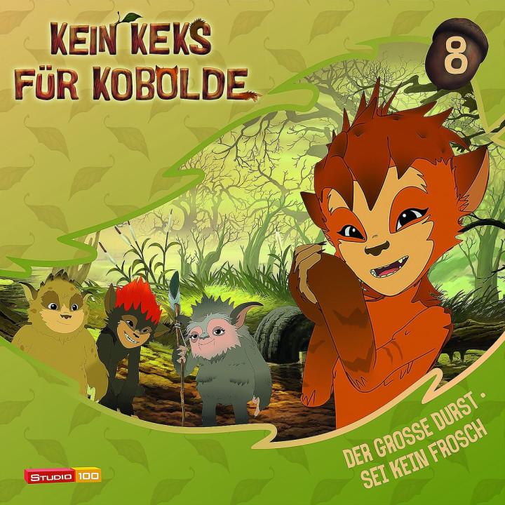 08: Der große Durst/Sei kein Frosch: Kein Keks für Kobolde (TV-Hörspiel)