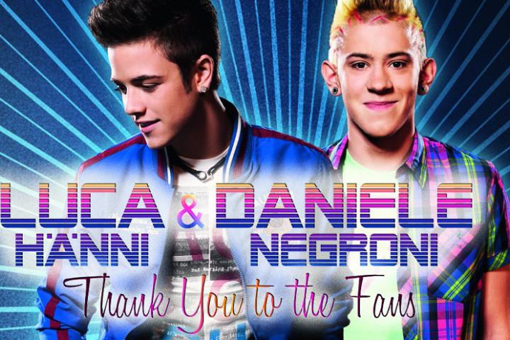 Luca Hänni Daniele Negroni Thank You To The Fans Tour