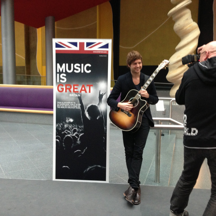 Nick Howard—Britische Botschaft 2013