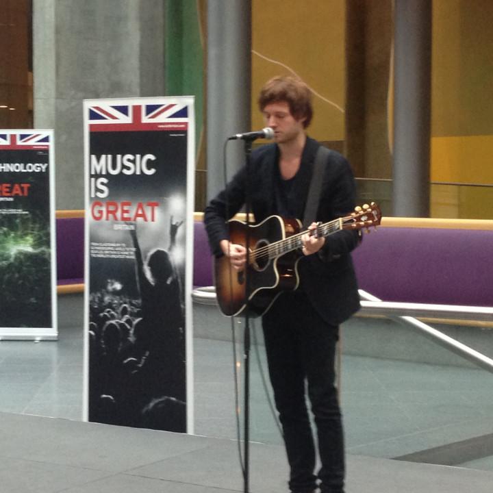 Nick Howard – Britische Botschaft 2013