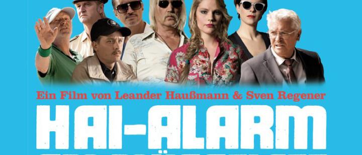Hai-Alarm am Müggelsee Plakat