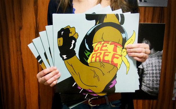 Major Lazer, Major Lazer mit Get Free: Gewinnt den Vodafone Song als 7'' Maxi Vinyl