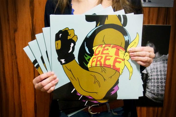 """Major Lazer """"Get Free"""" Gewinnspiel"""