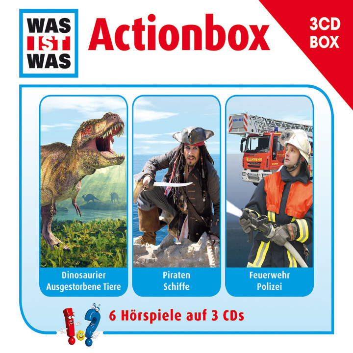 Was Ist Was 3-CD Hörspielbox Vol.1 - Actionbox: Was Ist Was