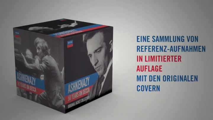 Decca - Ashkenazy 50 Jahre