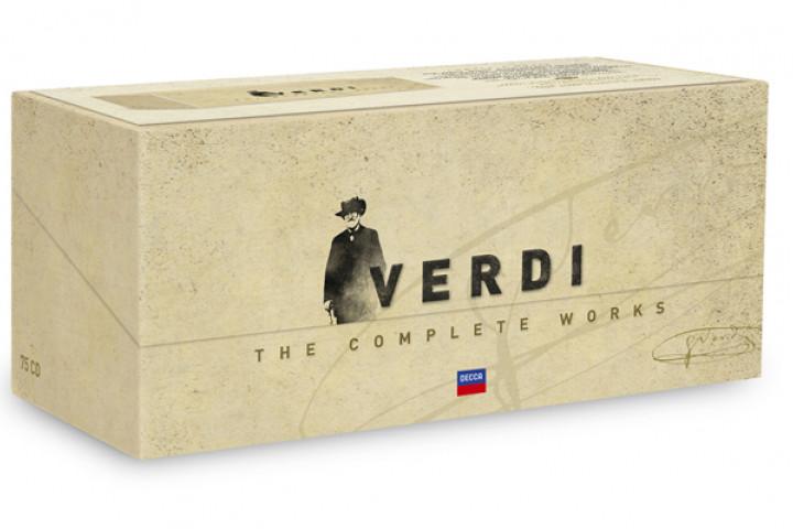 Die 75 CD-Box: Giuseppe Verdi - Sämtliche Werke