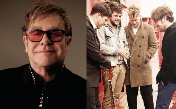 Mumford & Sons, Mumford & Sons mit Elton John diesen Sonntag auf der Grammy-Bühne