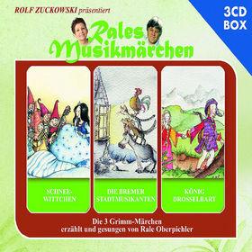 Rales Musikmärchen, Schneewittchen, Die Bremer Stadtmusikanten, König Drosselbart, 00602537085125