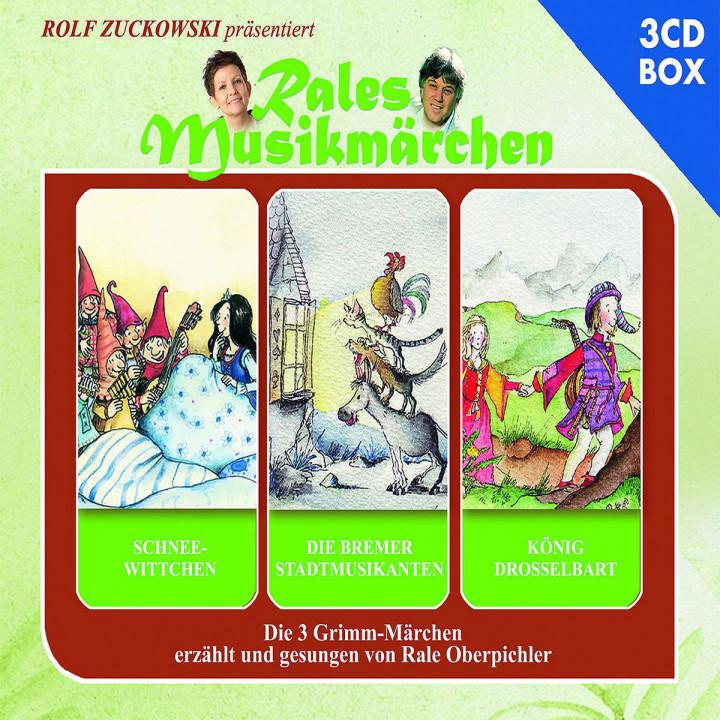 Schneewittchen, Die Bremer Stadtmusikanten, König Drosselbart