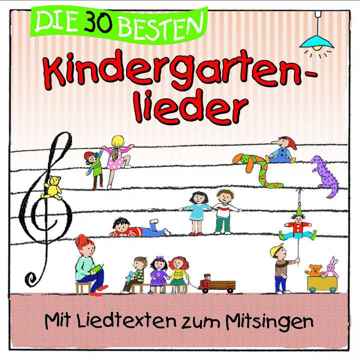 Die 30 besten Kindergartenlieder: Sommerland,Simone/Glück,Karsten & Kita-Frösche,Die