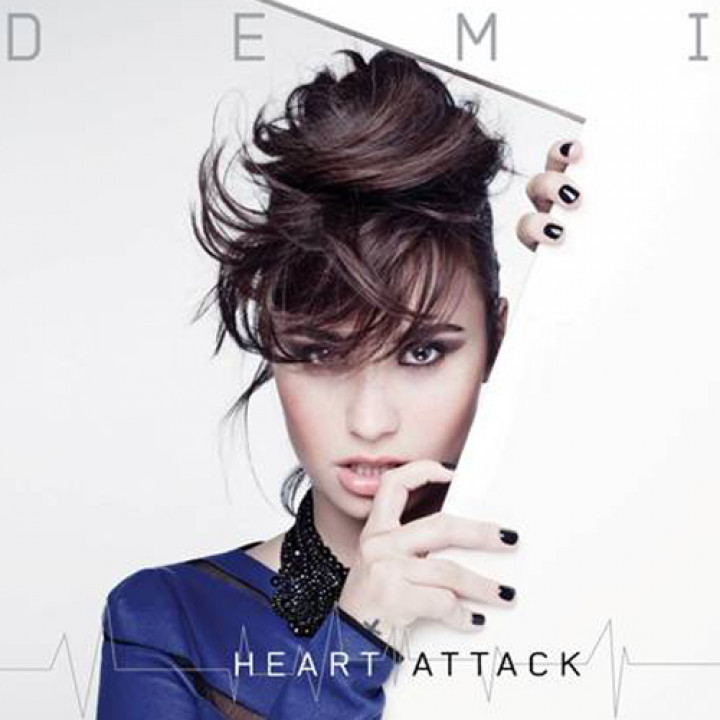 Demi Lovato Heart Attack Cover