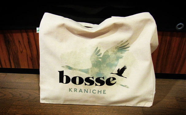 Bosse, Kraniche zum Tragen: Gewinnt eine Bosse Tasche zum neuen Album