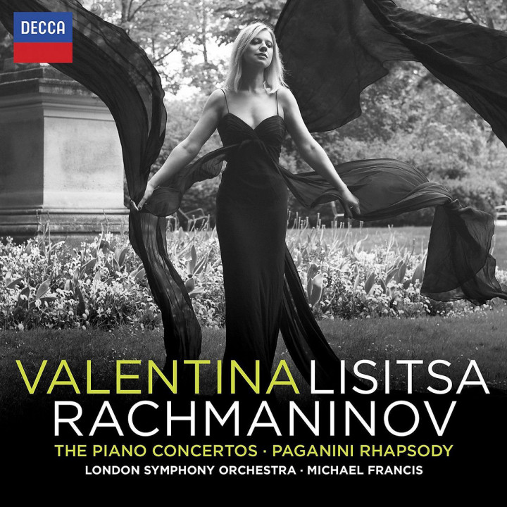 Rachmaninoff Klavierkonzerte - Paganini Rhapsody: Lisitsa,Valentina/Francis,Michael/LSO
