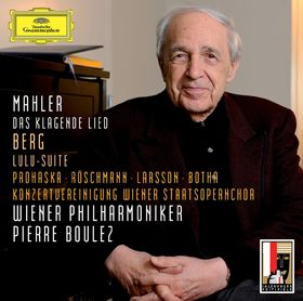 Pierre Boulez, Mahler: Das klagende Lied / Berg: Lulu-Suite, 00028947798910