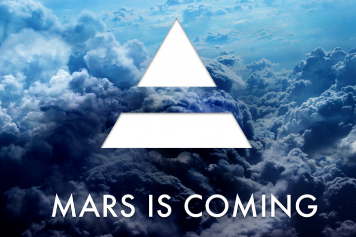 30 Seconds To Mars - Mars Is Coming Header