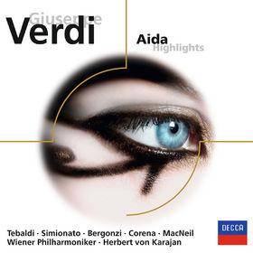Herbert von Karajan, Verdi: Aida - Highlights, 00028948073238