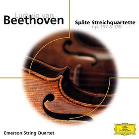 Emerson String Quartet, Beethoven: Späte Streichquartette op.132 & 135, 00028948073245