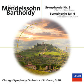 Sir Georg Solti, Mendelssohn: Symphonien Nr. 3 & 4 Italienische, 00028948073269
