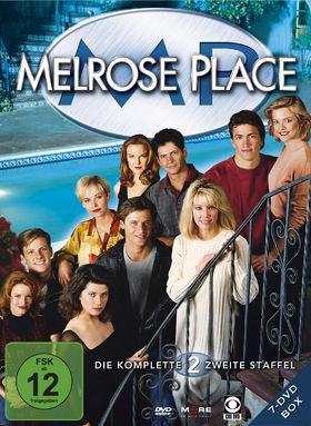 Melrose Place, Melrose Place - die komplette 2. Staffel (7 DVD), 04032989603213
