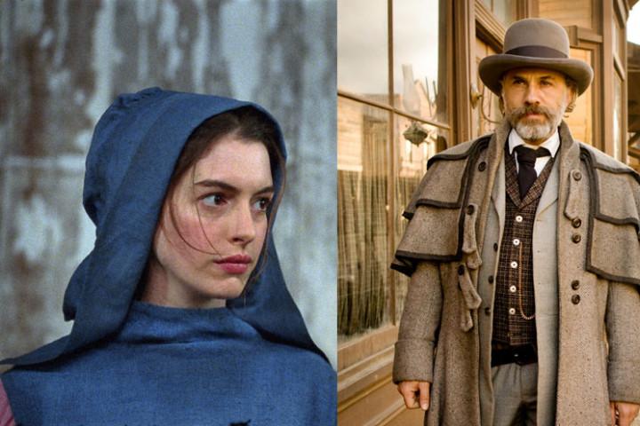 Les Misérables Django Unchained Oscar Gewinner