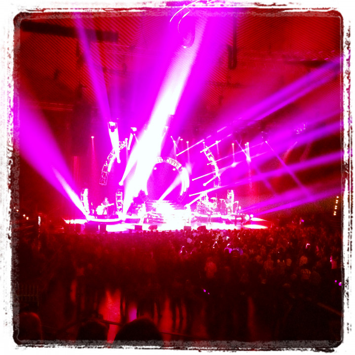 Instagram pic – Ronan Keating in concert Berlin, 9.2.2013