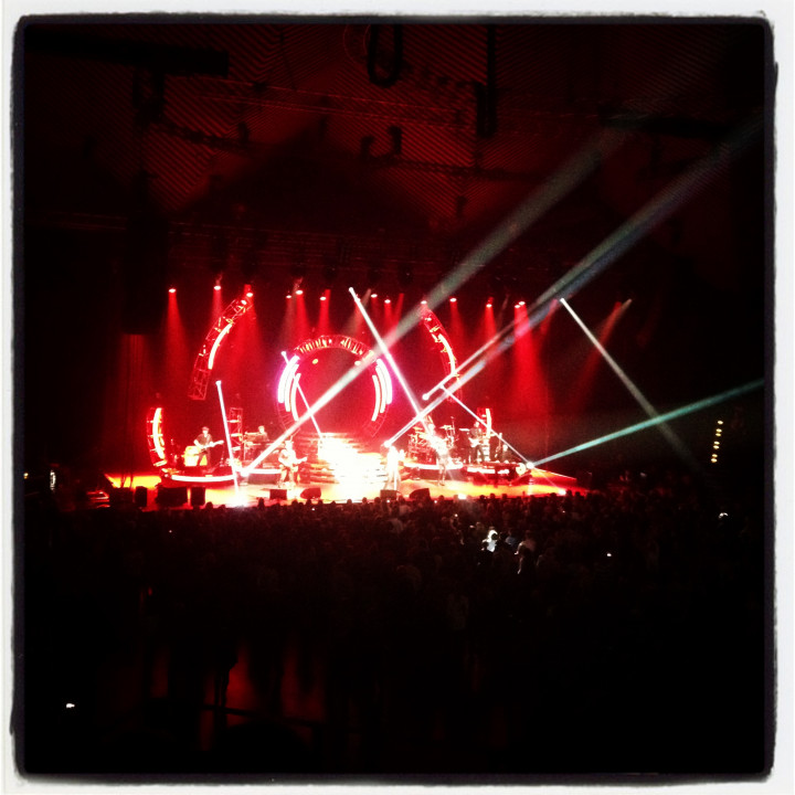 Instagram pic—Ronan Keating in concert Berlin, 9.2.2013