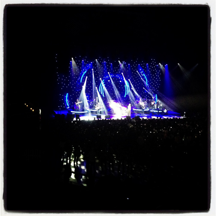 Instagram pic — Ronan Keating in concert Berlin, 9.2.2013