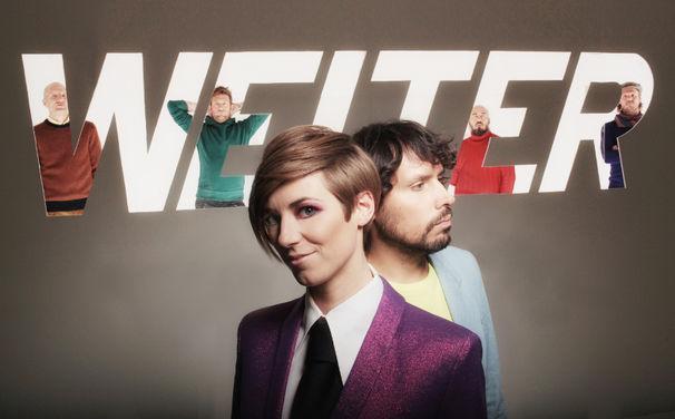 Weiter, 27. September: Weiter veröffentlichen ihre neue Single Toll aus dem Debütalbum Weiter