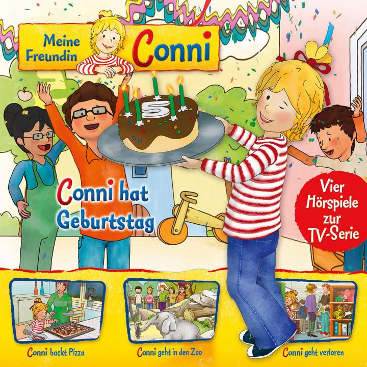 04: Conni hat Geburtstag/Pizza/Zoo/geht verloren: Meine Freundin Conni (TV-Hörspiel)