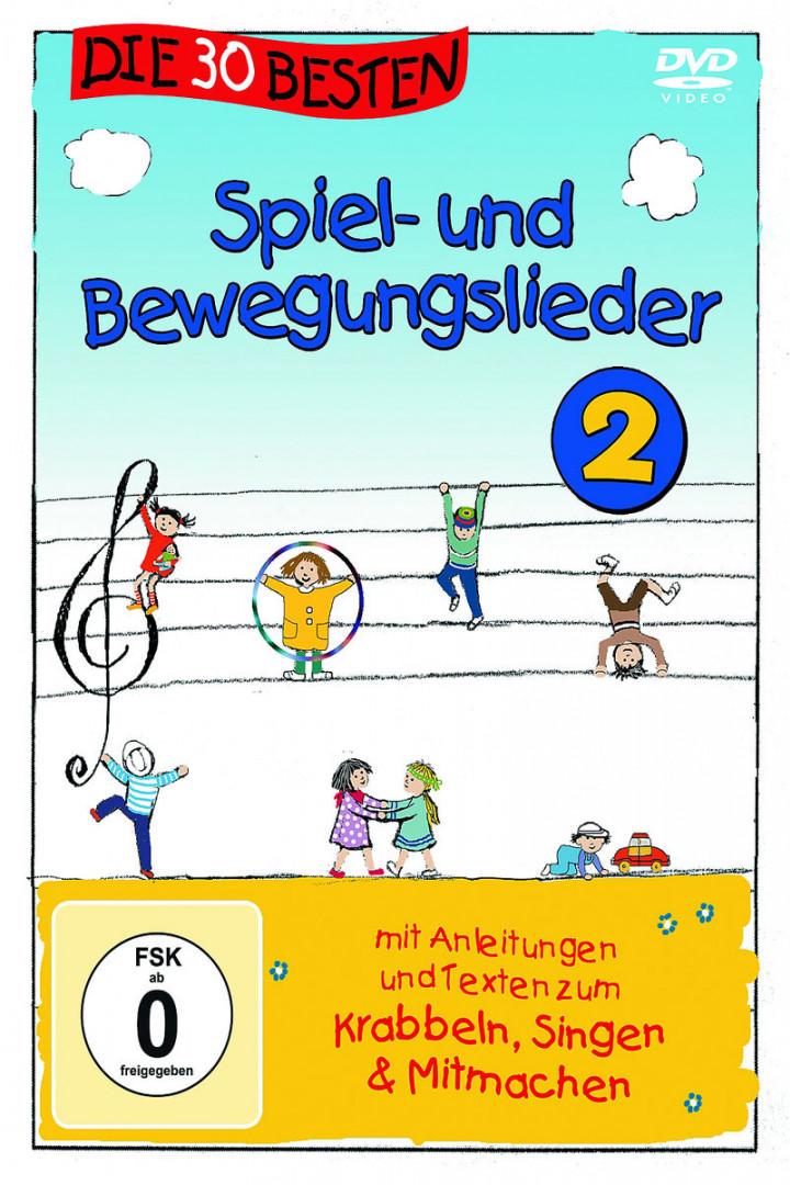Die 30 besten Spiel- und Bewegungslieder 2-Die DVD: Sommerland,Simone/Glück,Karsten & Die Kita-
