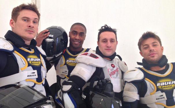 Blue, 2. März: Blue treten für Großbritannien bei der TV total WOK WM 2013 an