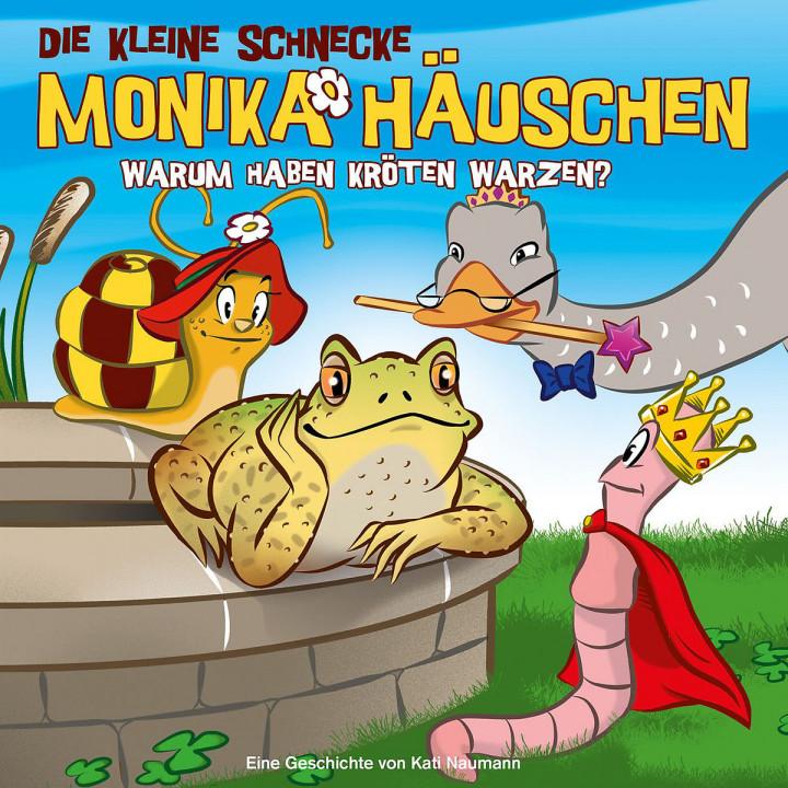 31: Warum haben Kröten Warzen?: Die kleine Schnecke Monika Häuschen