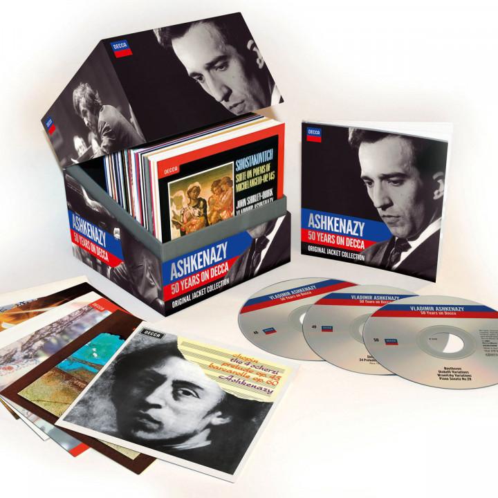 Ashkenazy - 50 Jahre auf Decca