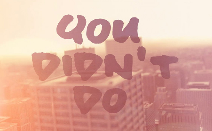 Everything You Didn't Do (Lyric Video)