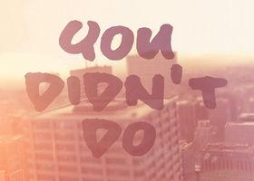 Jamie Cullum, Everything You Didn't Do (Lyric Video)