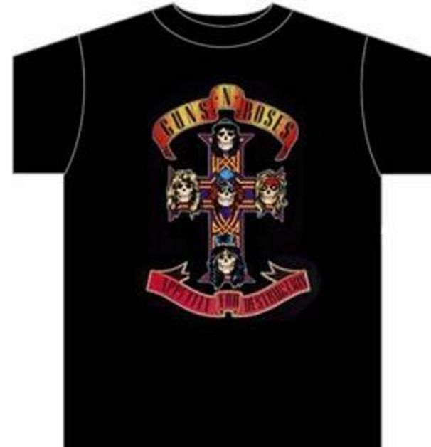 Guns N' Roses, Coole T-Shirts im Shop