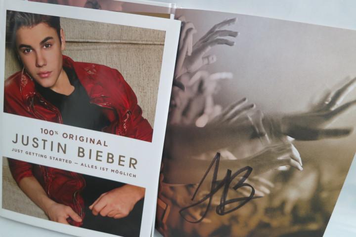 """Gewinnt die handsignierte Justin Bieber Biografie """"Just Getting Started"""""""