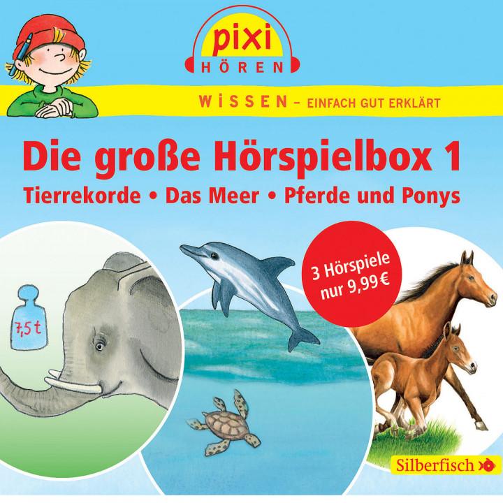 Pixi Wissen: Die große Hörspielbox 1: Pixi Wissen