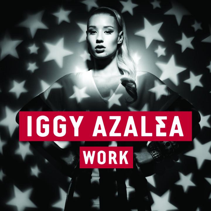 Iggy Azalea Work Cover 2013